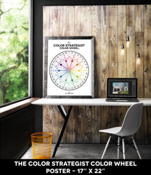 Buy The Color Strategist Color Wheel Poster