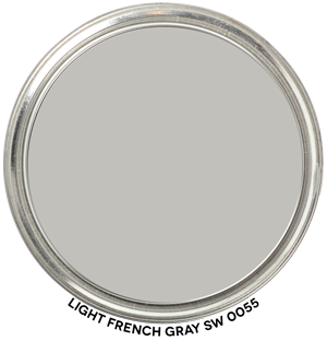 Light French Gray 0055 by Sherwin-Williams