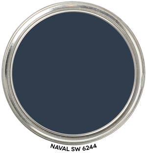 Paint Blob Naval 6244 by Sherwin-Williams Paint Blob