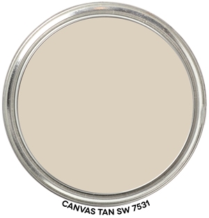Canvas Tan 7531 by Sherwin-Williams Paint Blob