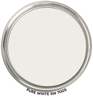 Pure White 7005 by Sherwin-Williams