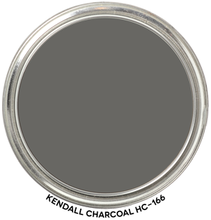 Kendall Charcoal HC-166 by Benjamin Moore Paint Blob