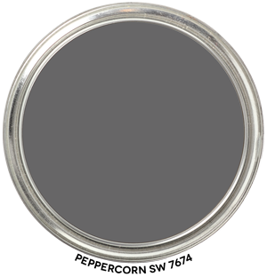 Peppercorn 7674 by Sherwin-Williams Paint Blob