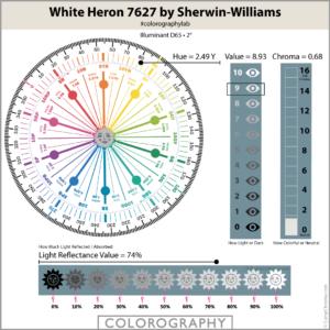 White Heron 7627 by Sherwin-Williams