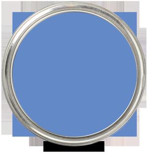 Blue Lapis 2067-40 by Benjamin Moore Paint Blob