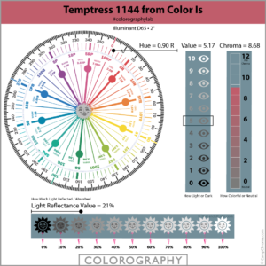 Temptress 1144 from Color Is