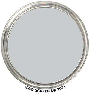 Paint Blob Gray-Screen-SW-7071