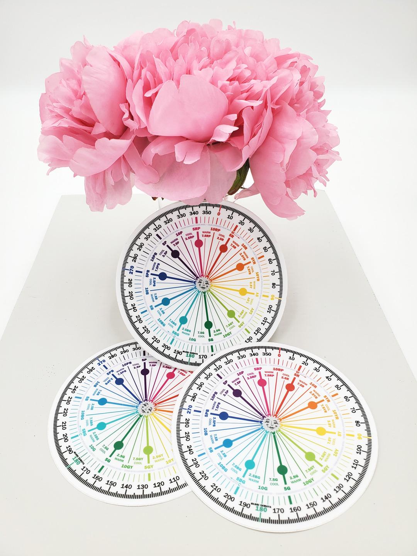 "The Color Strategist Color Wheel 5"""