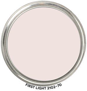 First Light 2102-70 by Benjamin Moore Paint Blob