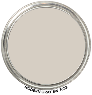 Paint Blob Modern-Gray-SW-7632