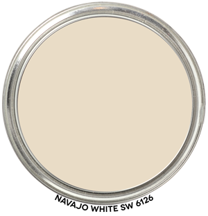 Paint Blob Navajo-White-SW-6126
