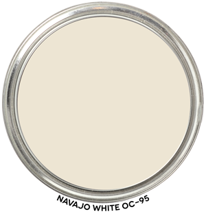 Paint Blob Navajo-White-OC-95